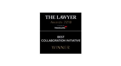 Escalate wins 'Best Collaboration Initiative' at The Lawyer Awards 2018
